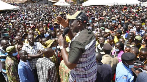 True leadership is given by the people not preplanned by a few tribal inclined people-DP Ruto
