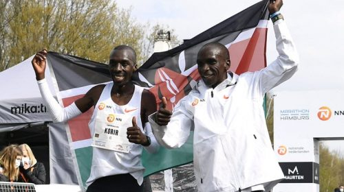 Eliud Kipchoge runs the fastest to win Mission Marathon