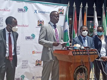 Give us funds or we shut down counties, Governors tell treasury