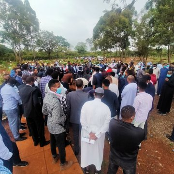 Fare Thee well:Somali businessman Bashir Mohammed laid to rest at the Langata cemetery