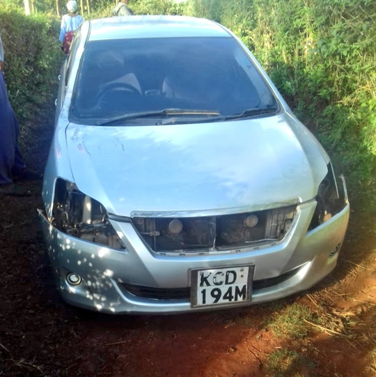 Detectives  launch a manhunt  for armed gang in Ruaka  after carjacking incident