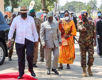 Kenya and Burundi y signs  several agreements aimed at strengthening cooperation