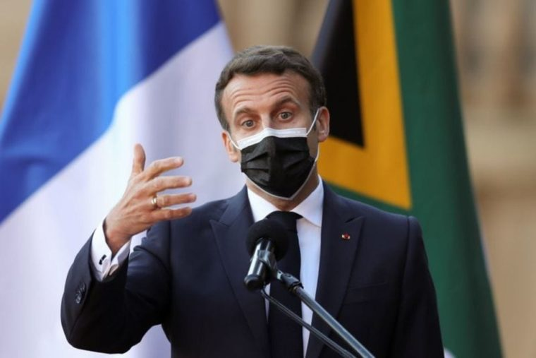 Macron says France will help Africa make more COVID-19 vaccines locally