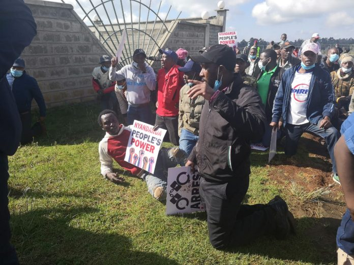 Protests and Chaos in Nyandarua as County Speaker Wahome resumes duty