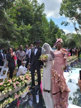 Pomp and color  as DP Ruto's daughter June says I DO