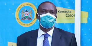 Acting Health DG Dr. Patrick Amoth is now the C.E.O  of the world health organization in Geneva  WHO