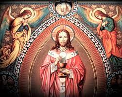 Catholic church celebrates the solemnity of the most holly body and blood of Christ