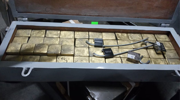 DCI Intercepts Fake Gold Consignment At A JKIA Freight Station