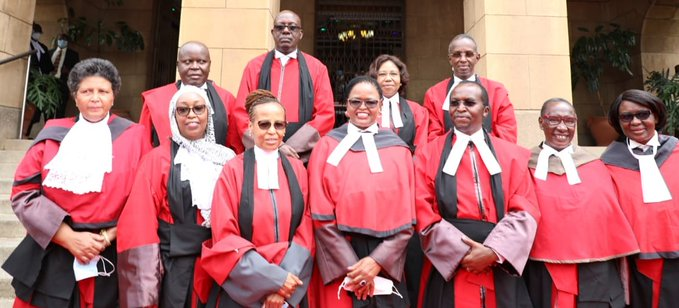 Daniel Musinga takes  oath of office as Court of Appeal President