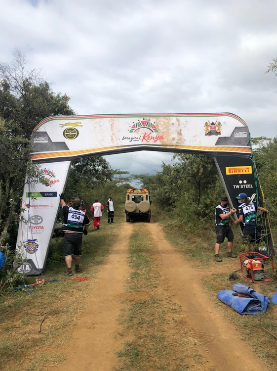 All is set for the much anticipated Safari Rally on Thursday