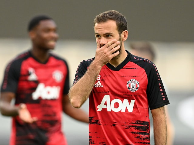 Juan mata will have to take a pay cut to continue being at Manchester united