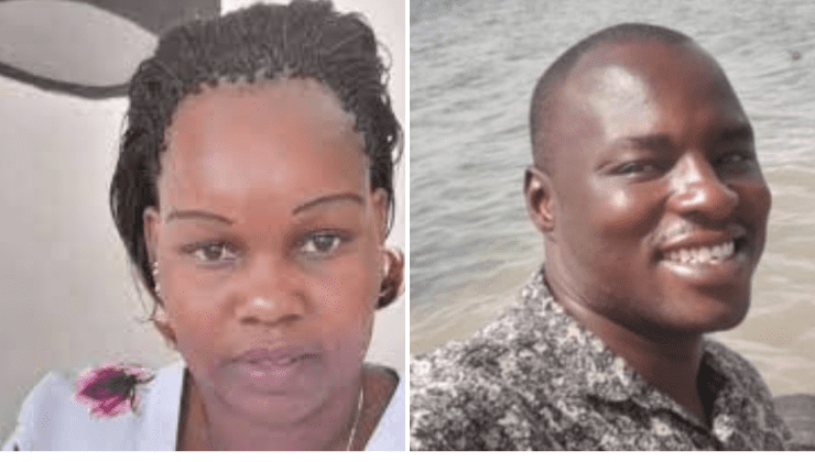 Sad encounter: Families of Kangogo and murdered police officer Ogweno in a surprise meet up in Nakuru