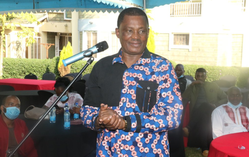 I am in the presidential race come 2022,speaker Justin Muturi now declares