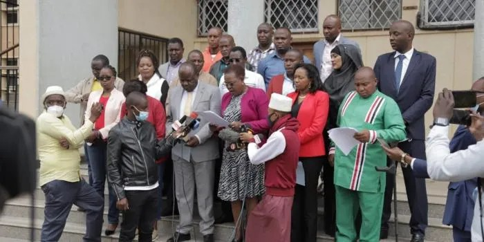 DP Ruto Allies now claims that govt keen to cause violence during election through organized gangs