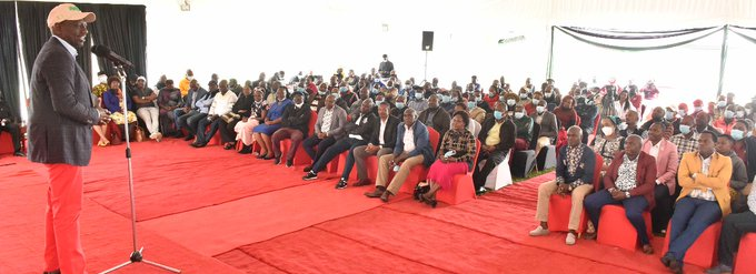 2022 ELECTIONS BELL:DP Ruto meets 200 MCAs from Mt Kenya