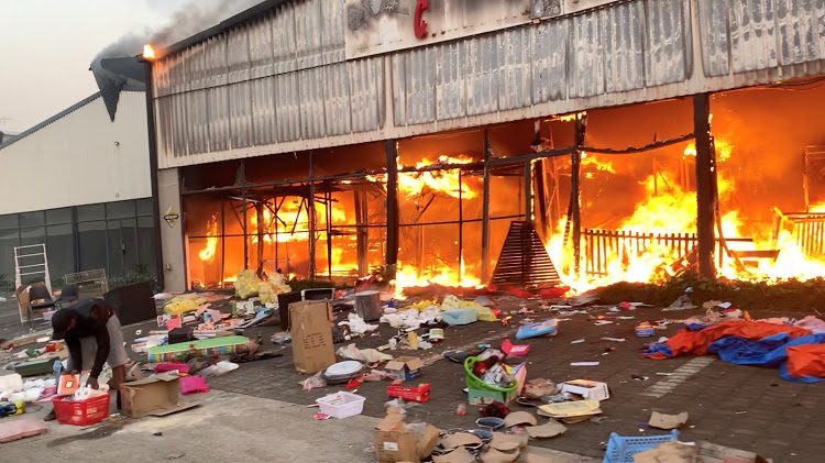 Death toll in South Africa riots rises to 72 as unrest rages across country