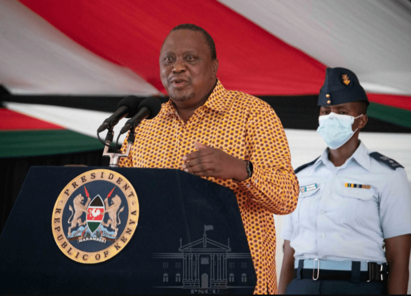 Kilifi residents finally gets title deeds for their lands as president Uhuru urges them not to sell them