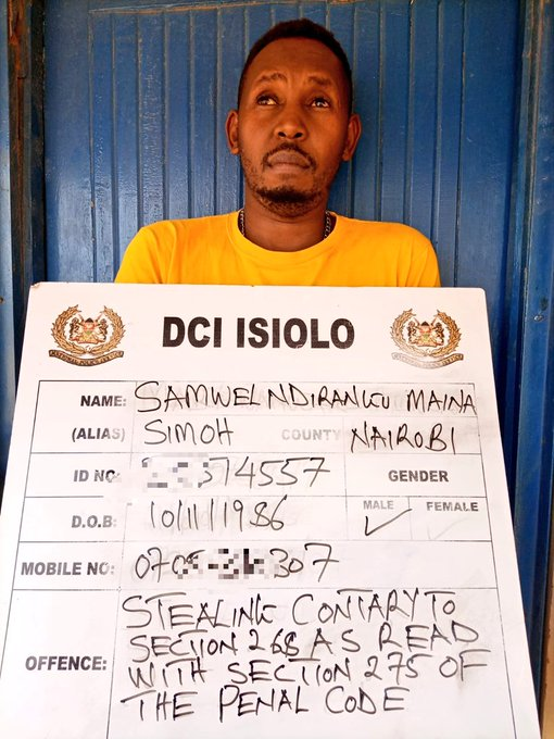 CRIME WATCH:Detectives arrest three suspected Mpesa fraudsters