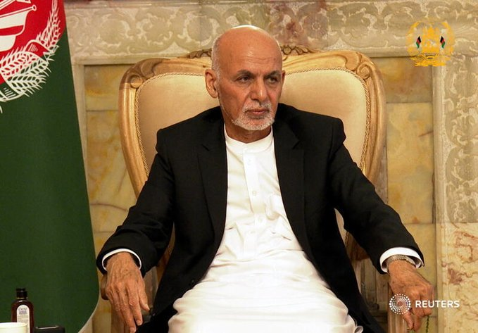 Afghanistan President Ghani in UAE – Foreign ministry