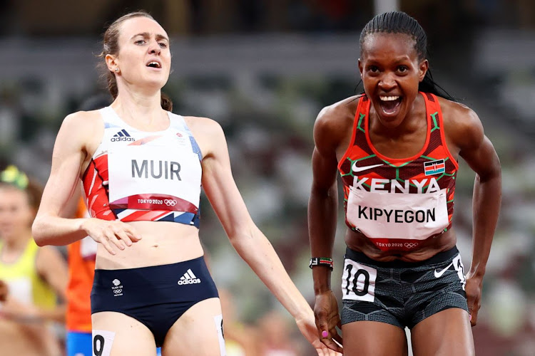 A second gold medal for Kenya as Kipyegon wins  women's 1500m Race in Tokyo