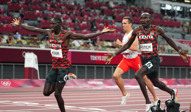 Gold at last as Korir makes Kenya proud winning first gold in Tokyo, Rotich clinches silver in men's 800m