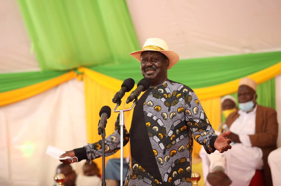 Raila promises to prioritize reforms in country's healthcare system