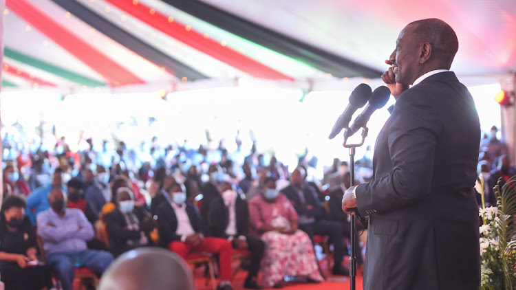 DP Ruto says he is focused moving ahead and has no time to engage detractors