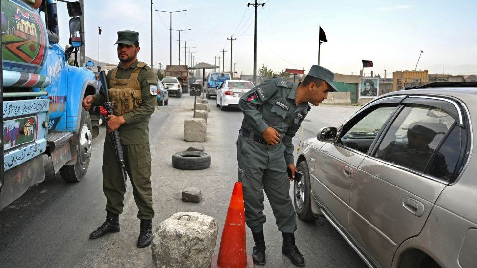 Taliban entering Kabul 'from all sides'