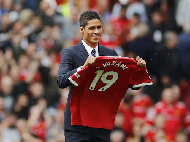 Manchester United confirm Raphael Varane arrival on four-year deal