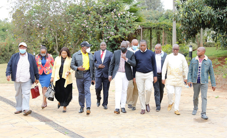Ruto says Raila and Kalonzo to be blamed for stalled big four agenda projects