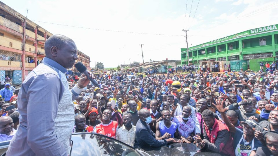 DP RUTO in Awendo to drive the hustler narrative