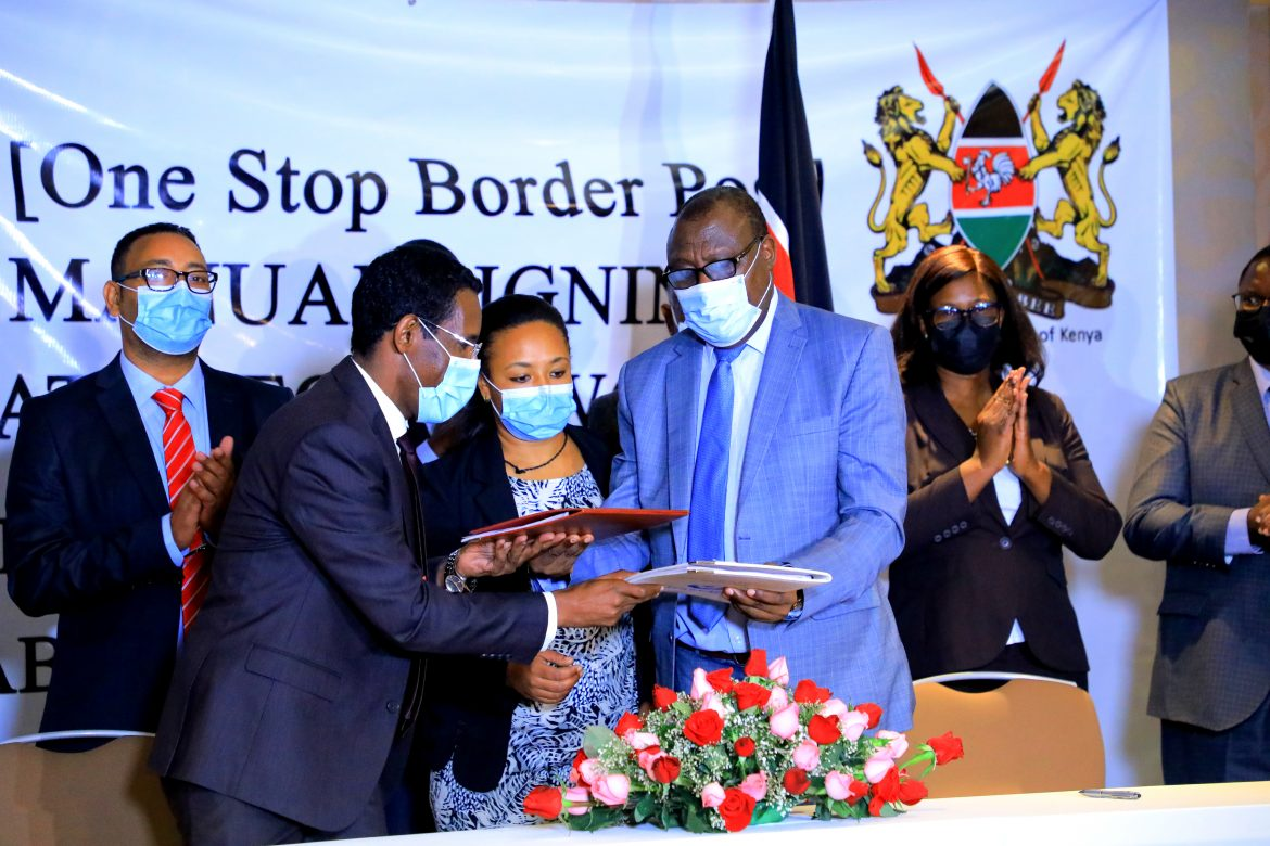 1 of 3,204 Kenya confident on trade with Ethiopia as Moyale OSBP operational manual is signed