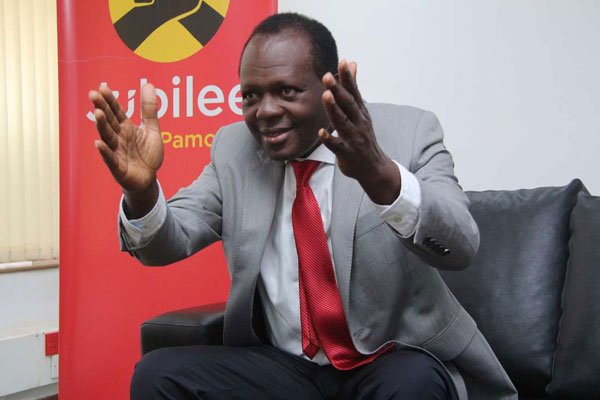 Jubilee party tells DP Ruto to be transparent on how he makes his cash, asks him to pay taxes