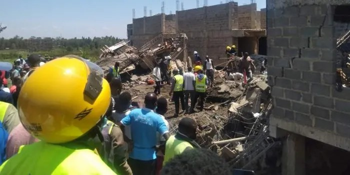 Two bodies retrieved after Kisumu building collapses
