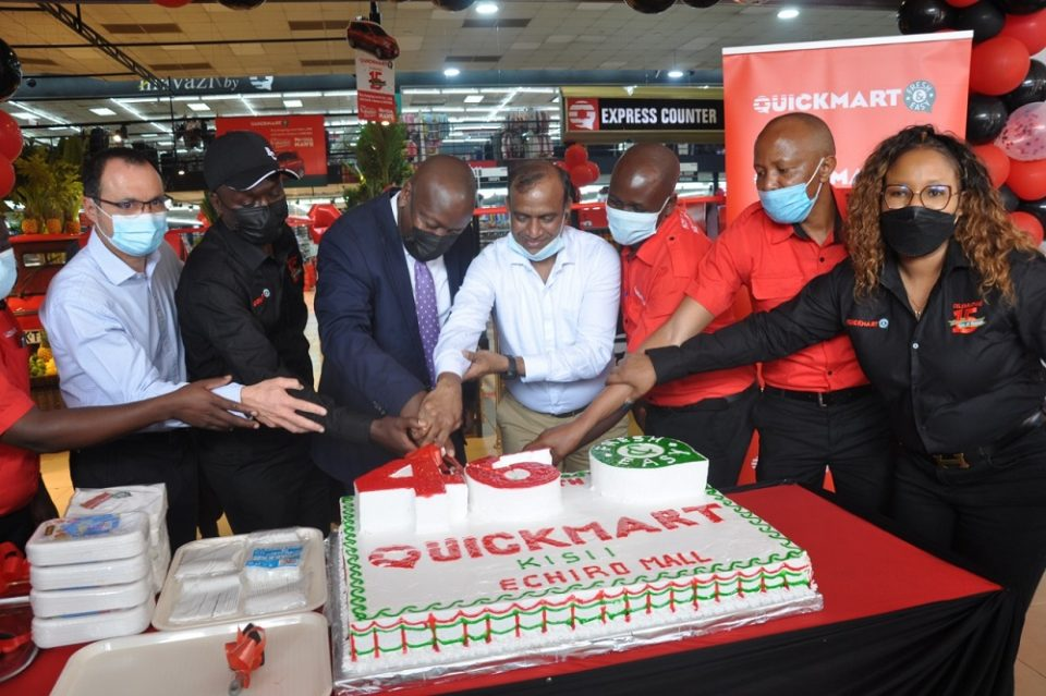 Quickmart supermarket makes a grand entry to kisii,opens new branch
