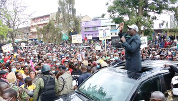 Welcome to MT Kenya region we are not visitors ,DP Ruto Taunts Opponents