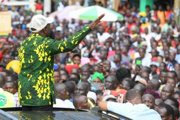 DP Ruto Urges Youth To Resist Politicians Mobilizing Them For Violence