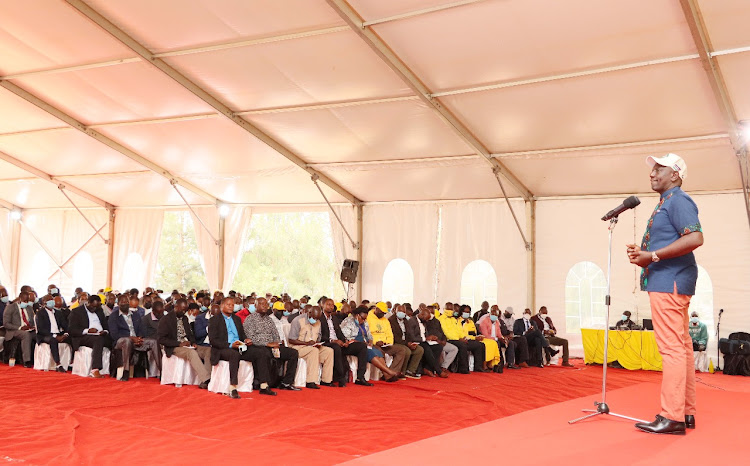 2022 election contest will be about alliance of the people and a few politicians-DP Ruto